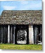 Boyne Barn Metal Print