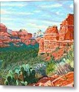 Boynton Canyon Metal Print