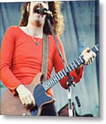 Brad Delp Of Boston-day On The Green 1 In Oakland Ca 5-6-79 1st Release Metal Print