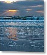 Bradenton Beach Sunset Metal Print