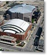 Bradley Center And Us Cellular Arena Metal Print