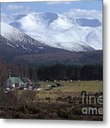 Braeriach From Whitewell Metal Print