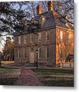 Brafferton At William And Mary College Metal Print