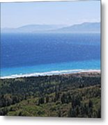 Bragini Beach One Metal Print