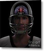 Brain Injury Metal Print