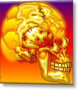 Brain Storm Metal Print