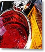 Brake Light 11 Metal Print