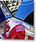 Brake Light 50 Metal Print
