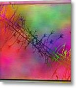 Branches In The Mist 24 Metal Print