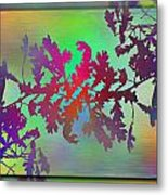 Branches In The Mist 25 Metal Print
