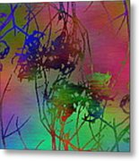 Branches In The Mist 47 Metal Print