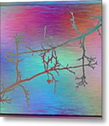 Branches In The Mist 60 Metal Print