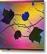 Branches In The Mist 71 Metal Print