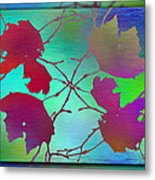 Branches In The Mist 72 Metal Print