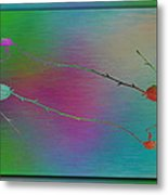 Branches In The Mist 73 Metal Print