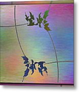 Branches In The Mist 82 Metal Print