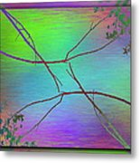 Branches In The Mist 83 Metal Print