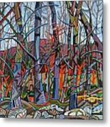Branching Out Metal Print by Deborah Glasgow