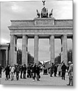 Brandenburger Tor - Berlin Metal Print