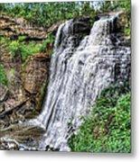 Brandywine Falls Metal Print