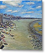 Brant Rock Beach Metal Print