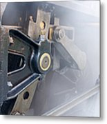 Brass And Steam Metal Print
