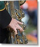 Brass Musical Instrument 01 Metal Print