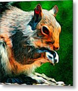 Brazen And Unrepentant Metal Print