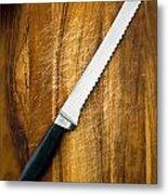 Bread Knife Metal Print