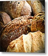 Bread Loaves Metal Print by Elena Elisseeva