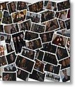 Breaking Dawn Part 2 Pile Of Pics Metal Print
