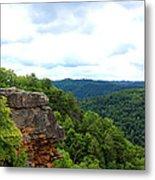 Breaks Interstate Park Virginia Kentucky Rock Valley View Overlook Metal Print