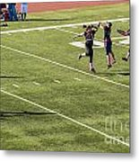 Breast Cancer Games 7377 Metal Print