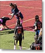 Breast Cancer Games 7400 Metal Print