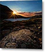 Breathless Sunrise II Metal Print