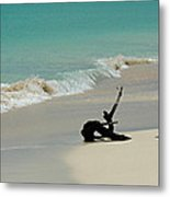 Breathtaking Barbuda Metal Print