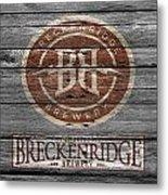 Breckenridge Brewery Metal Print