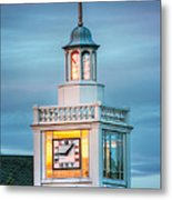Brecksville Clock Tower Metal Print by Jenny Ellen Photography