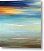 Breeze-seascapes Abstract Art Metal Print