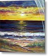 Breezy May Metal Print