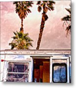 Breezy Day Palm Springs Metal Print