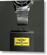 Breitling Watch - 5d20664 Metal Print by Wingsdomain Art and Photography