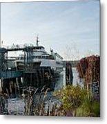 Bremerton Wa Ferry Doc Metal Print