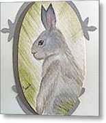Brer Rabbit Metal Print
