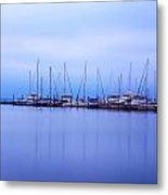 Brewer Yacht Yard At Cowesett Rhode Island Metal Print