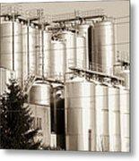 Brewery Metal Print