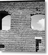 Brick Construction Of The Walls Of Fort Jefferson Dry Tortugas National Park Florida Keys Usa Metal Print by Joe Fox