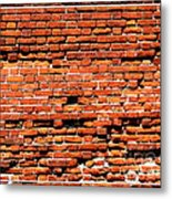 Brick Scarp Walls And Casement Gallery Metal Print