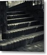 Brick Steps Metal Print