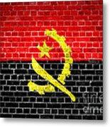 Brick Wall Angola Metal Print